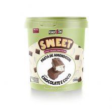 Pasta de Amendoim Sweet - 500g Chocolate e Coco - Power One