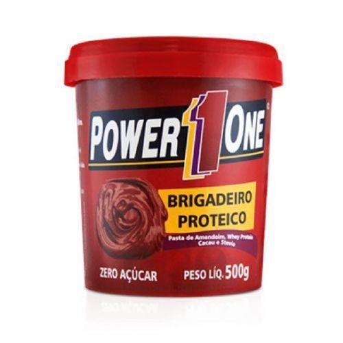 Pasta de Brigadeiro Proteico - 500g - Power One no Atacado