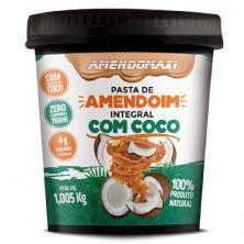 Pasta Integral de Amendoim - 1005g Amendoim com Coco – AmendoMaxi
