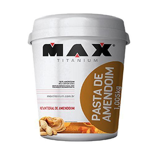 Pasta Integral de Amendoim - 1005g - Max Titanium