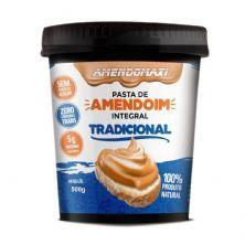 Pasta Integral de Amendoim - 500g Tradicional – AmendoMaxi
