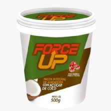 Pasta Integral de Amendoim com Açúcar de Côco - 500g - Force Up