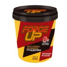 Pasta Integral de Amendoim com Albumina - 500g - Force Up