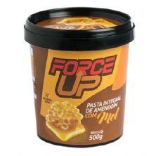 Pasta Integral de Amendoim com Mel - 500g - Force Up