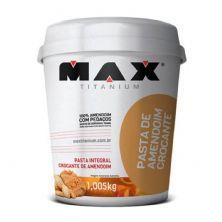 Pasta Integral de Amendoim Crocante - 1005g - Max Titanium