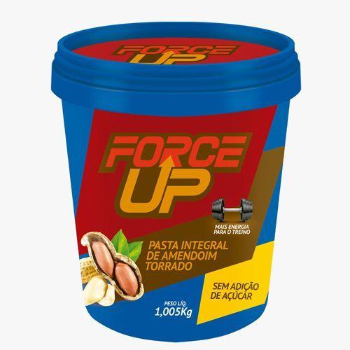 Pasta Integral de Amendoim Torrado - 1000g - Force Up*** Data Venc. 23/11/2017