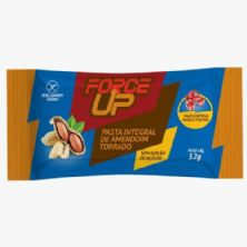 Pasta Integral de Amendoim Torrado Sachê - 32g - Force Up