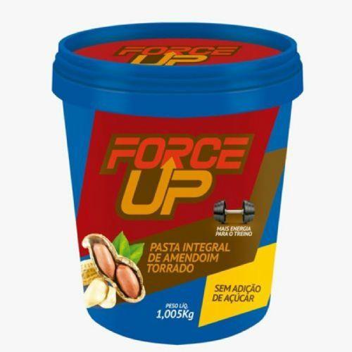 Pasta Integral de Amendoim Tradicional - 1000g - Force Up no Atacado