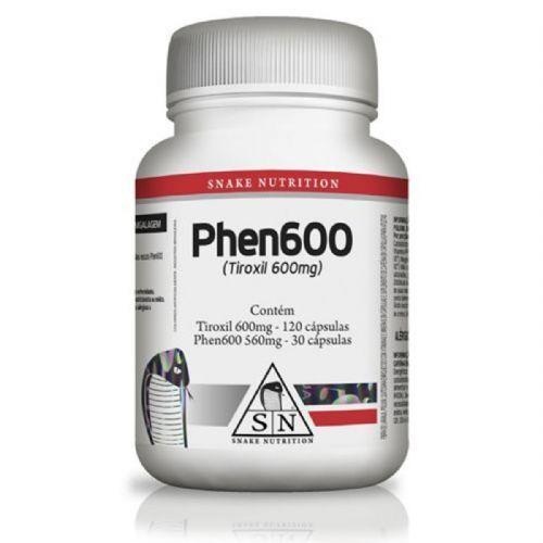 Phen600 - 150 Cápsulas - Snake Nutrition no Atacado
