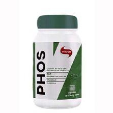 Phos Lecitina de Soja - 120 Cápsulas - Vitafor