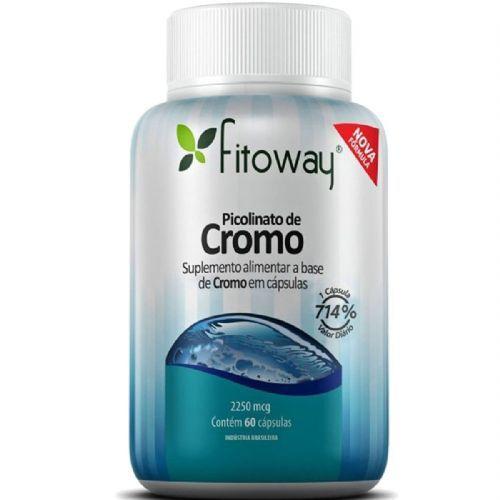 Picolinato Cromo - 60 Cápsulas -  Fitoway no Atacado