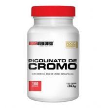 Picolinato de Cromo - 100 Cápsulas - BodyBuilders
