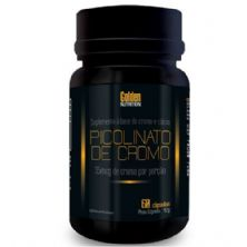 Picolinato de Cromo - 60 Cápsulas - Golden Nutrition