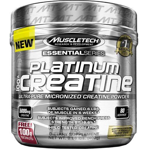 Platinum Creatine - 400g Sem Sabor - Muscletech no Atacado