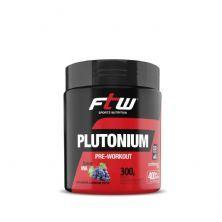 Plutonium Pre- Workout - 300g Uva - FTW