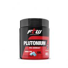 Plutonium Pre- Workut - 300g  Bubble Gum - FTW