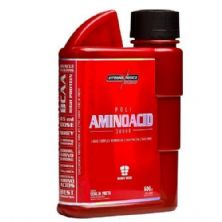 Poli Amino Acid 38000 (ZMA Cr) - Cereja Preta 600ml - Integralmédica