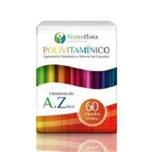 Polivitamínico - 60 Cápsulas - Nutreflora