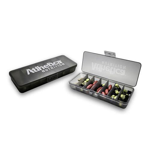Porta Comprimidos - Com 7 compartimento -  Atlhetíca Nutrition