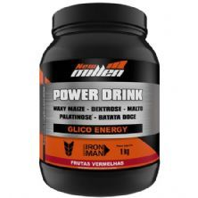 Power Drink - 1000g Frutas Vermelhas - New Millen