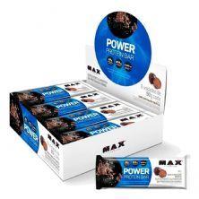 Power Protein Bar - 8 unidades 90g Dark Chocolate Truffle - Max Titanium