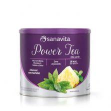 Power Tea - 200g Abacaxi com Hortelã - Sanavita