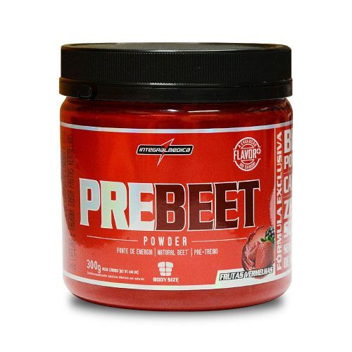 Pre Beet 300g Frutas Vermelhas - Integral