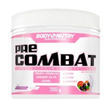 Pre Combat Feminy - 200g Açaí com Guaraná - Body Nutry