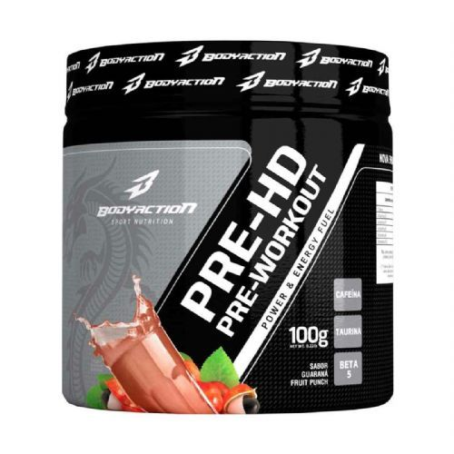 Pre-HD - 100g Guaraná Fruit Punch - BodyAction no Atacado