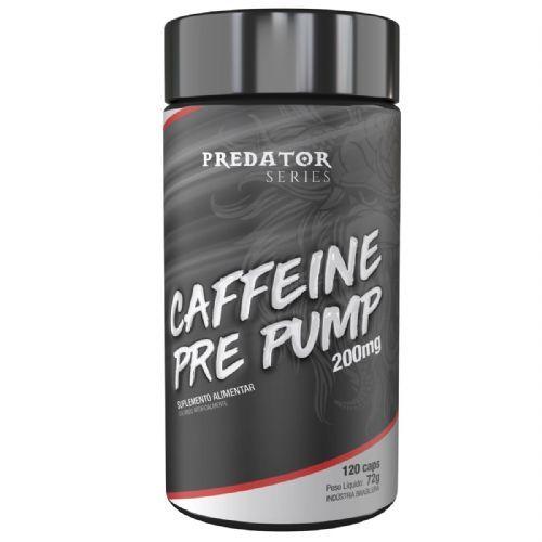 Predator Caffeine Pre Pump 200mg - 120 Cápsulas - Nutrata no Atacado