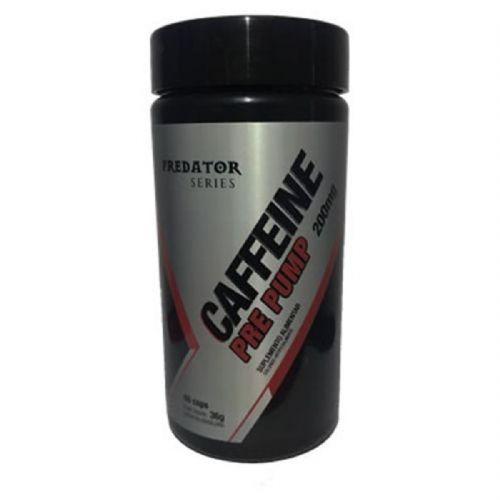 Predator Caffeine Pré Pump - 60 Cápsulas - Nutrata no Atacado