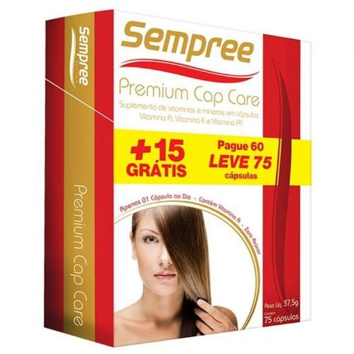 Premium Cap Care - 75 Cápsulas - Sempree*** Data Venc. 30/10/2019