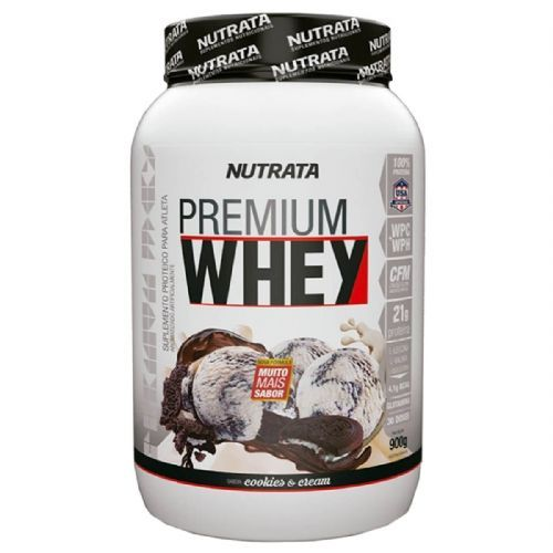 Premium Whey - 900g Cookies & Cream - Nutrata no Atacado