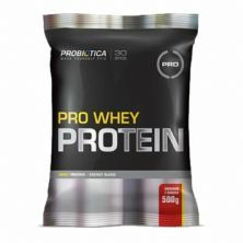 Pro Whey Protein Super Formula - 500g Morango/Banana - Probiótica