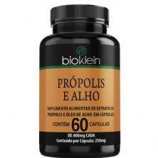Própolis e Alho - 60 Cápsulas - Bioklein