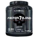 Protein 7 Blend - 1800g Caramelo - Black Skull no Atacado