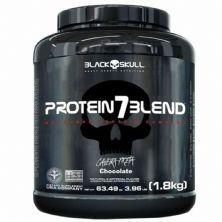 Protein 7 Blend - 1800g Chocolate - Black Skull