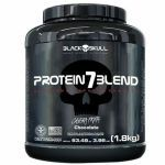 Protein 7 Blend - 1800g Chocolate - Black Skull