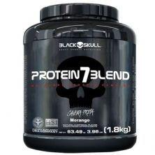 Protein 7 Blend - 1800g Morango - Black Skull