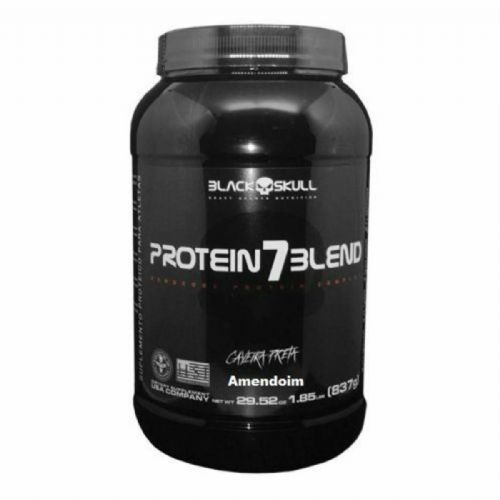Protein 7 Blend - 837g Amendoim - Black Skull no Atacado