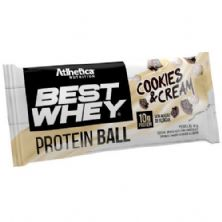Protein Ball Best Whey - 1 Unidade Cookies&Cream - Atlhetica