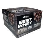 Protein Ball Best Whey - 12 Unidades Chocolate ao Leite - Atlhetica