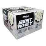 Protein Ball Best Whey - 12 Unidades Chocolate Branco - Atlhetica