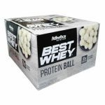 Protein Ball Best Whey - 12 Unidades Chocolate Branco - Atlhetica Nutrition