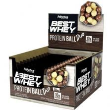 Protein Ball Best Whey - 12 Unidades Duo - Atlhetica Nutrition