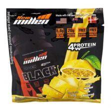 Protein Black 4w - 1 sachê Mouse de Maracujá - New Millen*** Data Venc. 23/11/2020