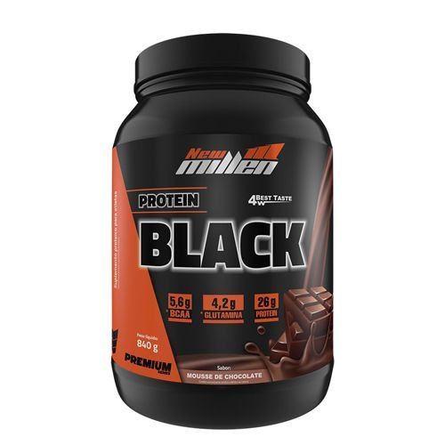 Protein Black - 840g Mousse De Chocolate - New Millen no Atacado