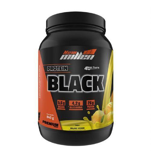 Protein Black - 840g Milho Verde - New Millen no Atacado