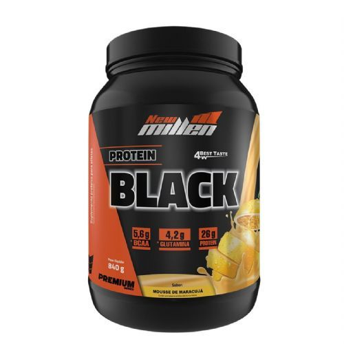 Protein Black - 840g Mousse de Maracujá - New Millen no Atacado