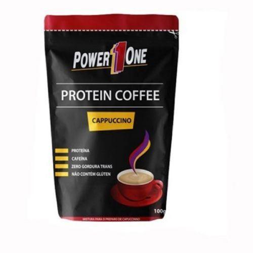 Protein Coffee - 100g Capuccino - Power One no Atacado